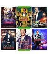 NCIS New Orleans Complete Series Seasons 1 2 3 4 5 6 DVD Collection New ... - $64.00