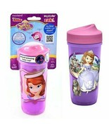 Zak Designs Toddlerific Perfect Flo Toddler Cup w/ Sofia The First, No-S... - $12.85