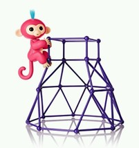 Fingerlings Gift Play Jungle Gym Playset  Interactive Baby Monkey Aimeel... - $119.68