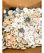 Sensormatic Hawk Eye Ink Tags Clothing Ink Heads and Cone Tags 500 PCS - $98.99