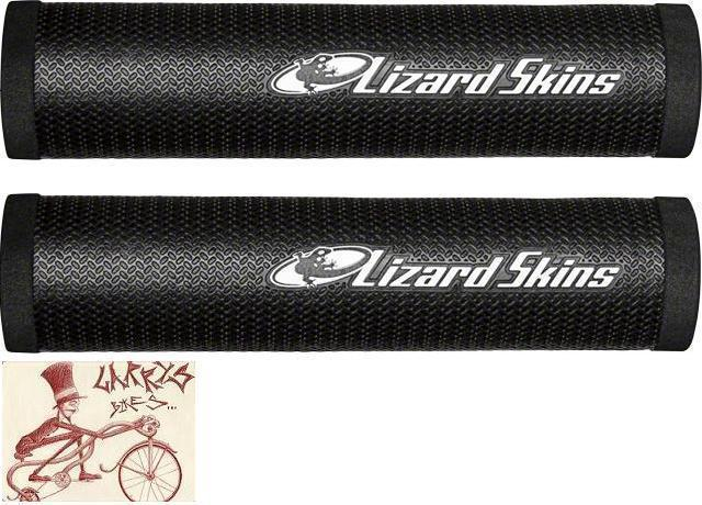 LIZARD SKINS DSP 30.3MM BLACK MTB BICYCLE GRIPS