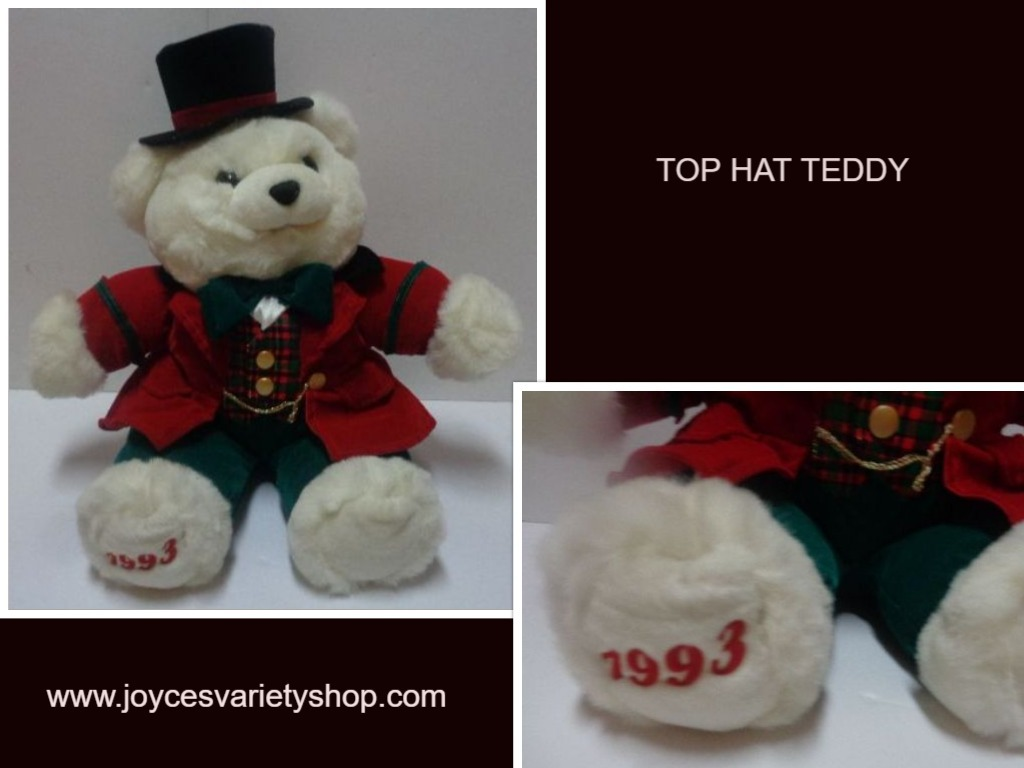 Top hat teddy 1993 web collage