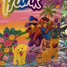 Perfect Vintage Lisa Frank Multi Character Double Pocket Folder Hip Hop Bears image 2