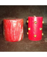 Michael Coffindaffer Candle Jingle Bells & Aromatique Red Scented Large ... - $25.00