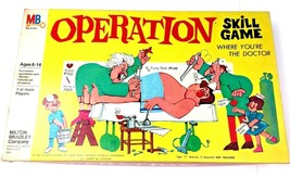 Vintage Operation Game 1965 Smoking Doctor Milton Bradley Skill 4545 VTG Board - $39.59