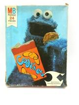 Vintage Sesame Street Cookie Monster Jigsaw Puzzle 24 Pieces  - $14.80