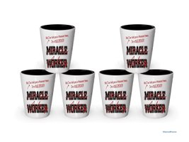 I'm Bus Driver shot glass- Not a Miracle Worker -Bus Driver Gifts (6) - $29.35