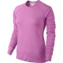 5246127c723a Nike Dri-FIT Sprint Crew Women  39 s Running Shirt Top NEW  90