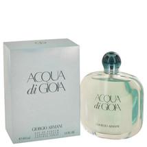 Acqua Di Gioia Perfume  By Giorgio Armani for Women 3.4 oz Eau De Parfum Spray - $81.76