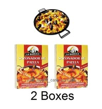 2 Boxes Spanish Saffron for PAELLA & other food... - $9.74