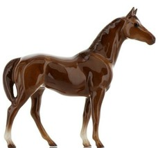 Hagen Renaker Miniature Horse Thoroughbred Race Swaps Ceramic Figurine Boxed image 1