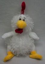 """Ganz Webkinz Lil' Kinz White Fuzzy Chicken 7"""" Plush Stuffed Animal Toy - $14.85"""