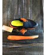 Christopher Kane Black/orange Slide Sneakers  sz 39 $390 - $116.88