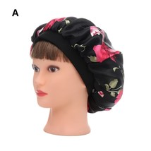 1 PC Women Night Sleep Hat Wide Band Hair Loss Chemo Hat Comfortable Sat... - $7.94