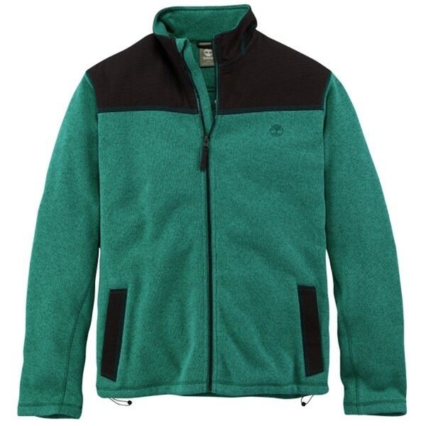 Primary image for Timberland Men's Fleece Jacket Bellamy River Fullzip in Peat 6147J, Size XL, XXL