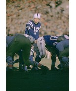 JOHNNY UNITAS 8X10 PHOTO BALTIMORE COLTS NFL FOOTBALL VS SAN FRANCISO 49ERS - $3.95