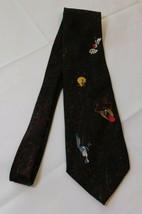Looney Tunes Mania Taz Marvin the Martian Silvester Bugs Bunny neck tie necktie - $21.77