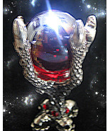 FREE W $99 HAUNTED CRYSTAL BALL WITCH'S INTENSE LOVE POWER MAGICK WITCH ... - $0.00