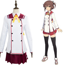 Sword Wielding Shrine Maiden Minoseki Academy Cosplay Costume Suit Outfit - $99.00+