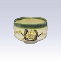 Mino-yaki - Matcha bowl - ORIBE [B] - $57.02