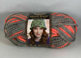 Lion Brand Wool-Ease Thick & Quick Yarn 87 Yds. 5 oz. ea. MONARCH - $5.94
