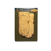 Plainsman Cabretta Leather Gloves- Small - 2 Pair - $35.17