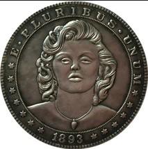 New Rare Hobo Nickel Coin 1893 Morgan Dollar Marilyn Monroe Sexy Casted ... - $11.99