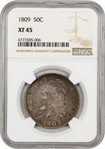 1809 50c NGC XF45 - Bust Half Dollar - $601.40