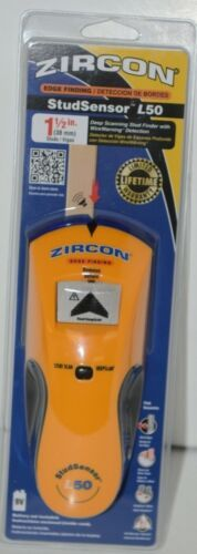 Zircon L50 Edge Finding StudSensor Deep Scanning Stud Finder WireWarning