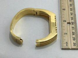 Tory Burch FitBit Gold Tone Holder Hinge Bangle Case Band Bracelet BT2426 Flex image 3