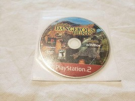 Cabela's Dangerous Hunts Greatest Hits PS2 Playstation 2 - GAME DISC ONLY - $4.95