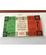 Italy Campagna Antitubercolare booklet 1965  stamps - $9.95