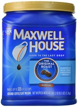 MAXWELL HOUSE ORIGINAL ROAST GROUND COFFEE 42.5OZ (2 PACK) - $29.91