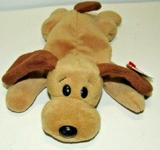Ty Beanie Baby, Bones The Dog, Brown 1993/1994, New With Tag PVC - $22.94