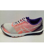 ASICS GEL LYTE 33 Purple/Coral/White Running Shoes Women's Size 10 T462N - $79.19