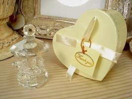DLusso Designs CR-Smcarousel Mini CRystal Carousel In Satin Lined Heart ... - $25.62