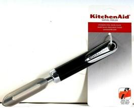 1 Kitchen Aid Stainless Steel Swivel Sharp Blade Peeler Peels Most Foods... - $19.99
