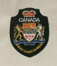 Canada Amari Usque Admare Embroidered Sewn World Travel Patch - $9.09