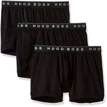 Hugo Boss Men's Natural Pure Cotton 3 Pack Underwear Boxers Trunks 50325383 image 4