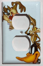 Looney Tunes tasmanian devil daffy duck Light Switch outlet cover plate decor image 2