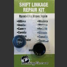Suzuki Eiger Transmission Shift Cable Repair Kit w/bushing Easy Install - $24.99