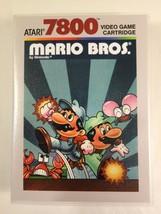 Mario Bros. - Atari 7800 - Replacement Case - No Game - $7.91