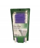 Assured 100% Pure Cotton Swabs 350 Count With Plastic Sticks. 1-Pk FrShpg - $9.72