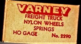HO Varney Freight Truck Nylon Wheels Springs - $3.25