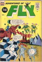 Adventures of The Fly Comic Book #16, Archie 1961 FINE - $24.11