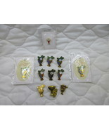 Chalice Grapes Cross Holy Communion First Communion Christian Pin Lot of... - $8.00