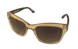Kenneth Cole Reaction Mens Soft Square Crystal Brown Sunglass KC1303 45F - $17.99