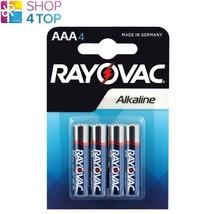 4 Rayovac Aaa LR03 M2400 Alkaline Batteries Ministilo 1.5V Micro Exp 2023 New - $3.26