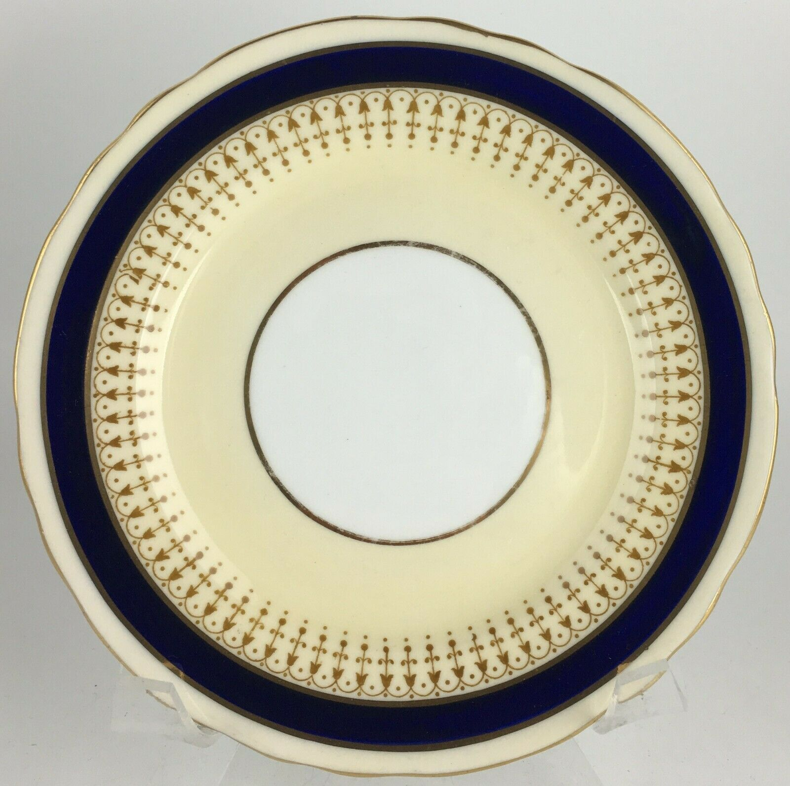 Aynsley 7301 Cobalt Bread & butter plate  - $8.00