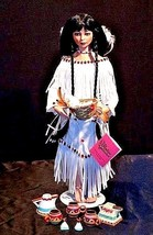 Vintage Paradise Galleries Native American Doll AA18-1283 image 1
